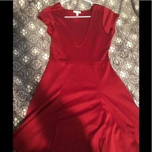 Red dress from Urban Outfitters. Never been worn!